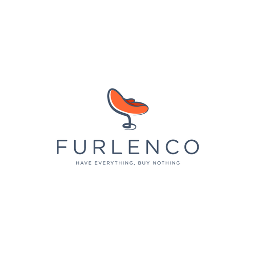 Logo proposal for a furniture rental company.