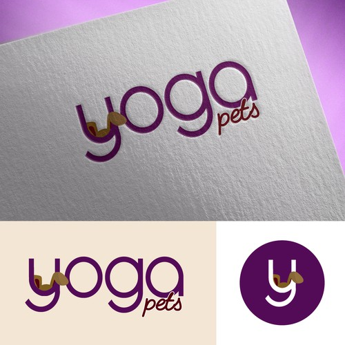 Logo for a contest. Yoga bags company for petsy