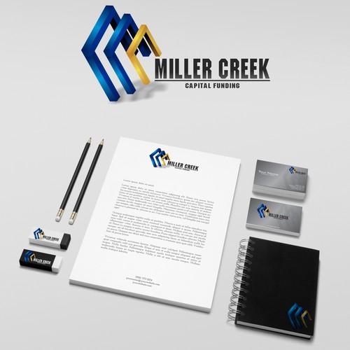 Logo design for Miller Creek Capital Funding
