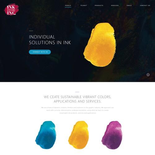 Print Studio Website Design