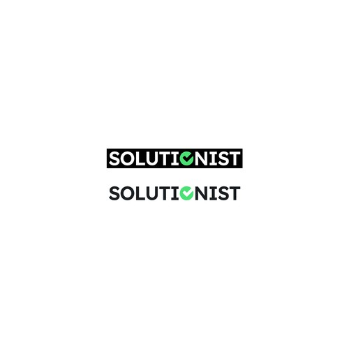 Minimal Logo Concept for SOLUTIONIST