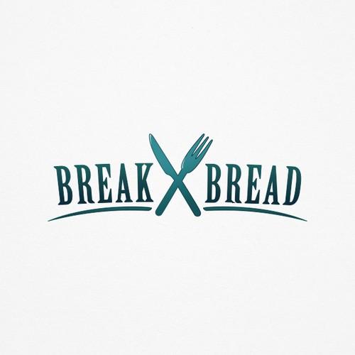 Organic focused logo illustrating a food dinning experience