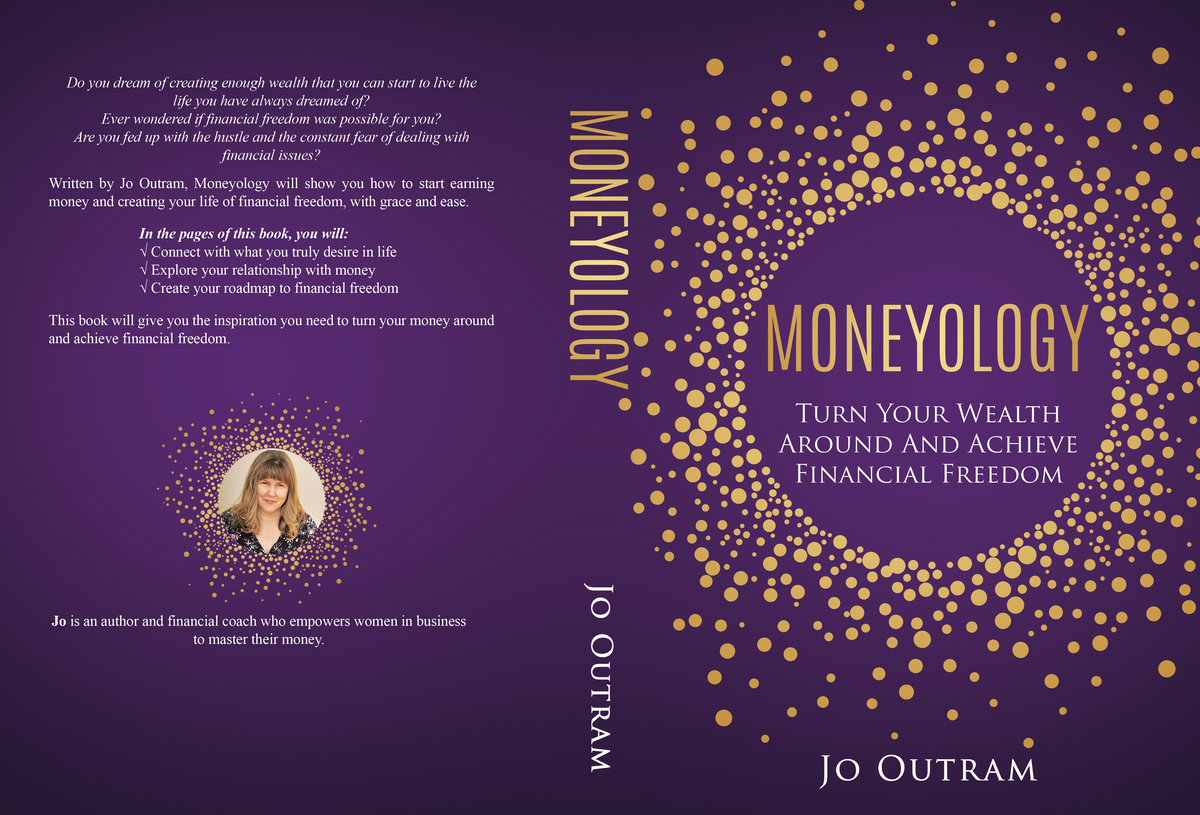 Book cover: money mindset book for women in business