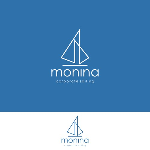 New cool logo, for corporate sailing events