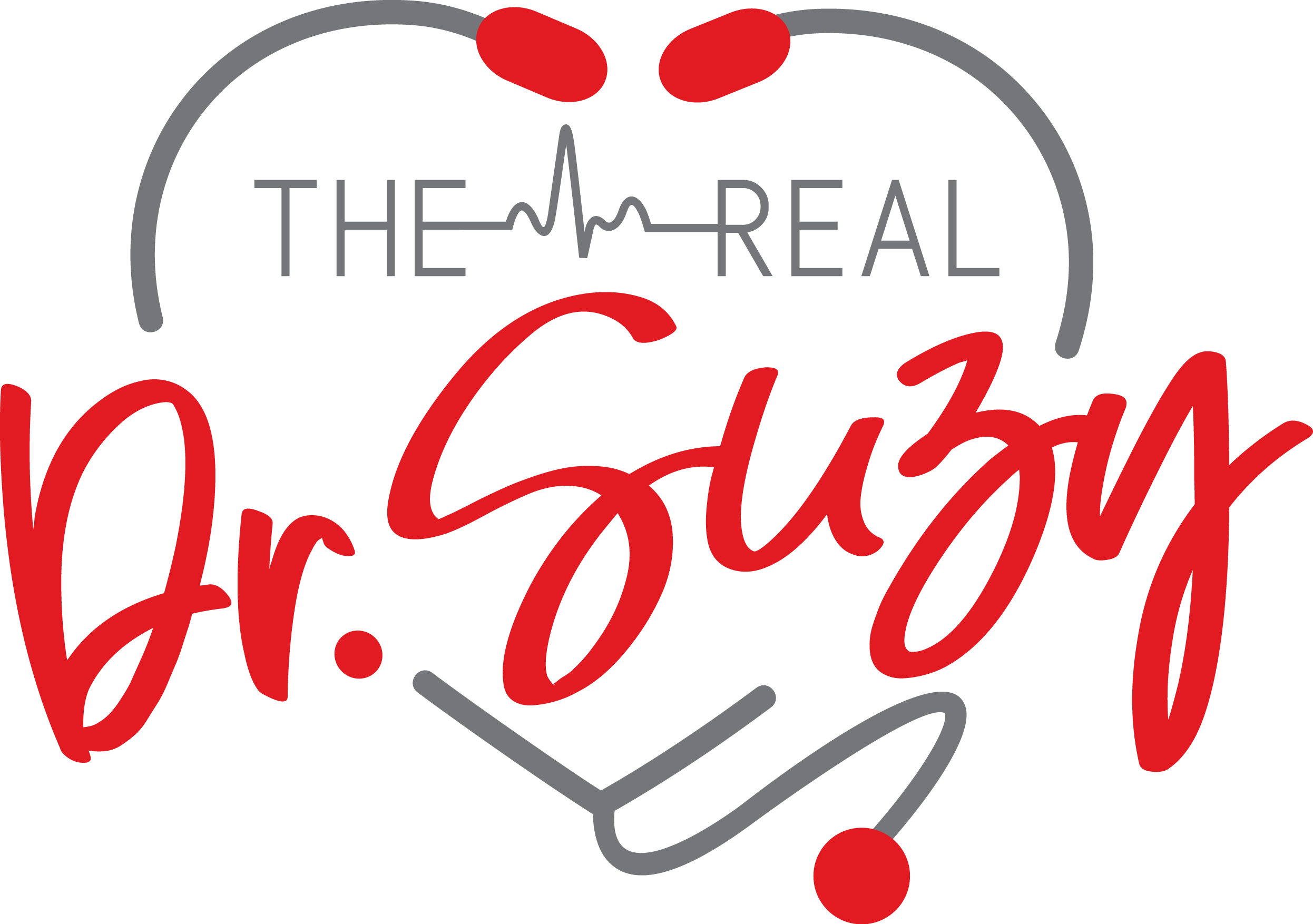 Create a heart-stopping logo for The Real Dr Suzy