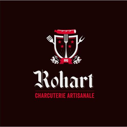 Logo pour une charcuterie artisanale labellisée Saveur en Or