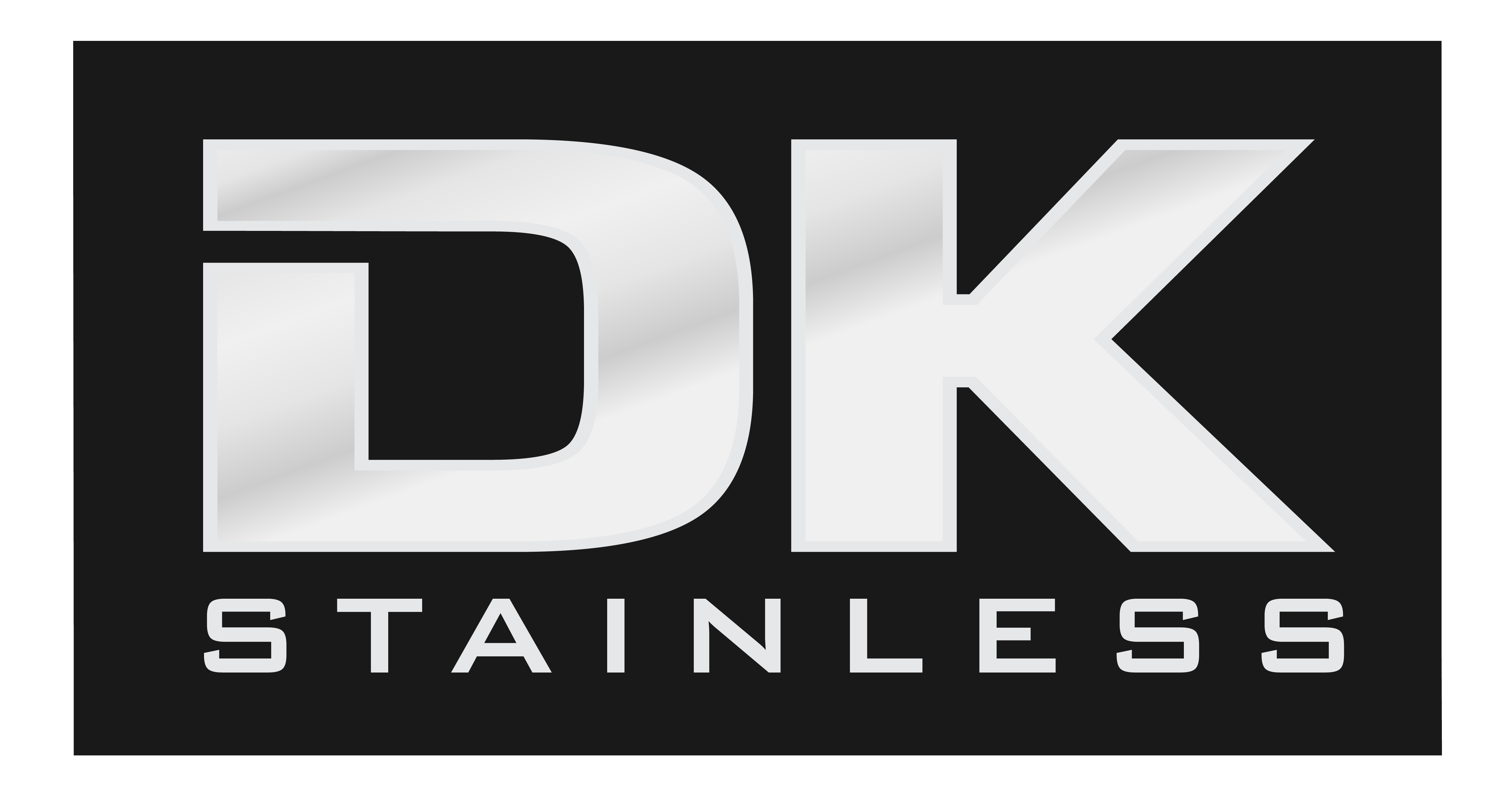Create a unique logo and business card to help DK Stainless stand out from the rest!