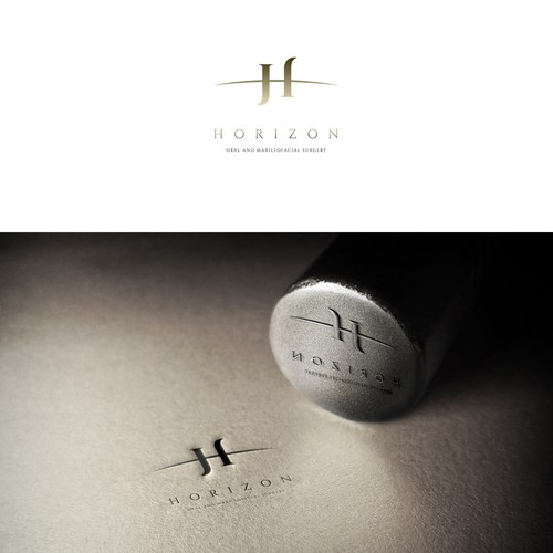 Horizon, oral and maxillofacial surgery, logo
