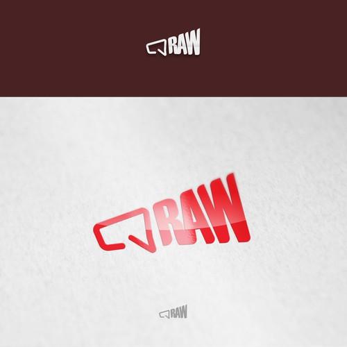 Megaphone logo for RAW
