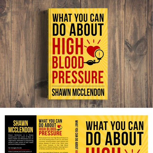 Non-fiction BOLD & SIMPLE Blood Pressure Book