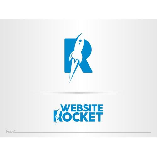 Premium logo design for awesome new tech startup Website Rocket