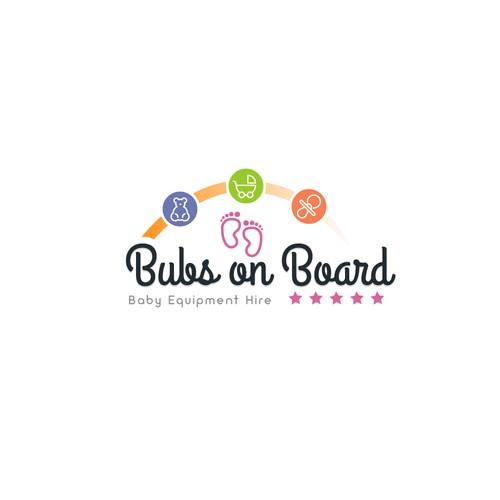 Baby on board logo