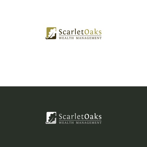 Logo concept for an accounting and financial firm.