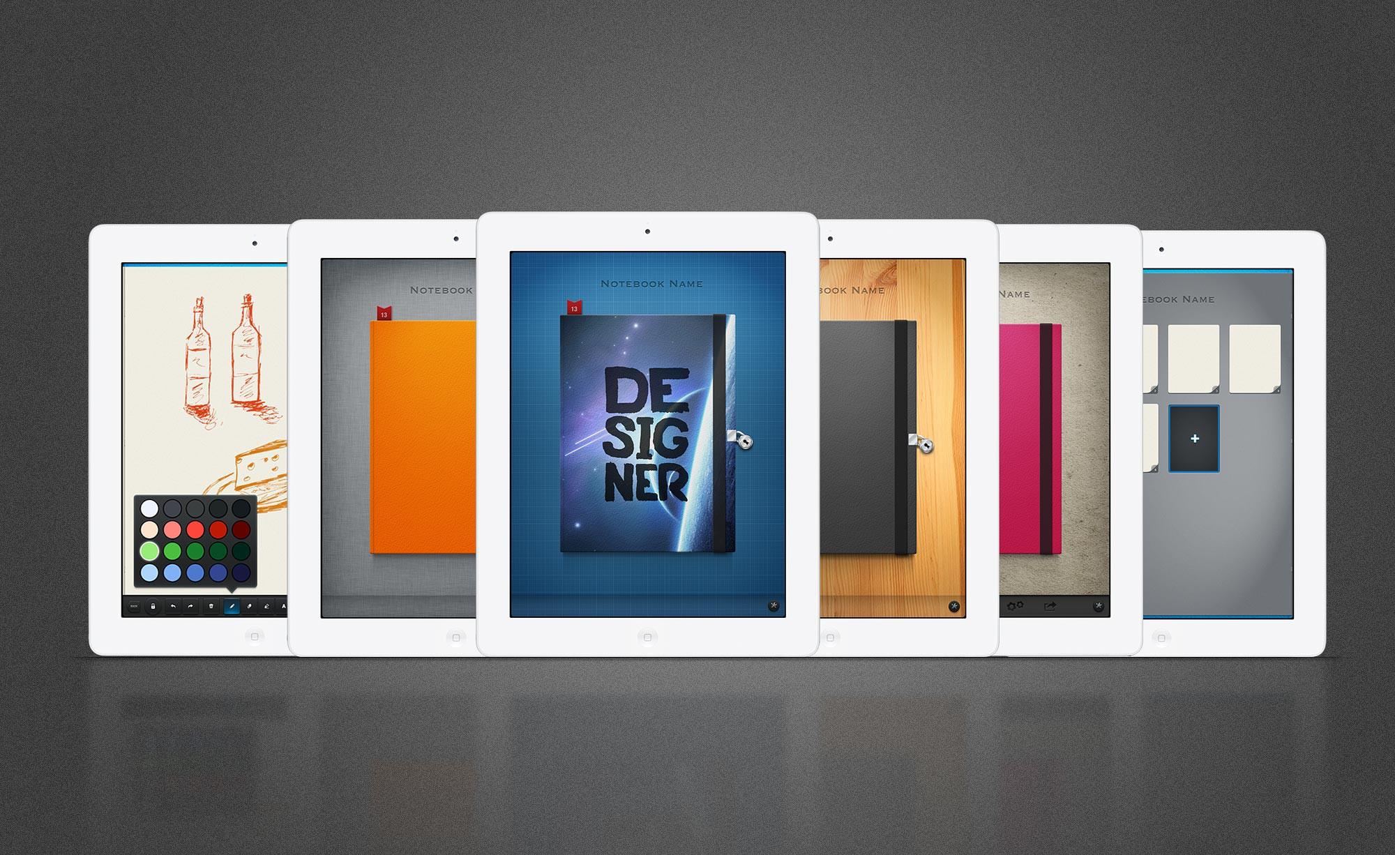Design a Beautiful Sketching iPad App for Fishington Studios!