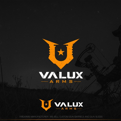 Logo design for Valux Arms