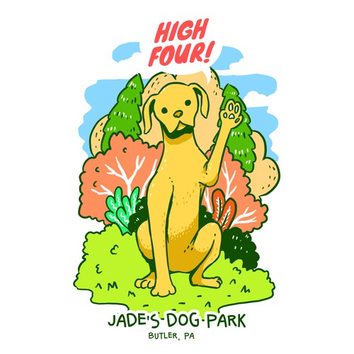 Jade's Dog Park (T-shirt)