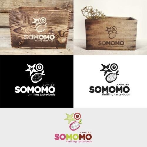 Create strong fresh & tasty brand for exotic fruits - somomo