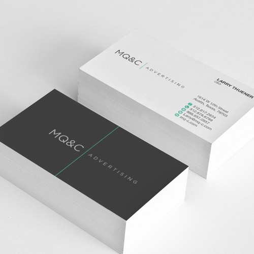 Branding of advertising company