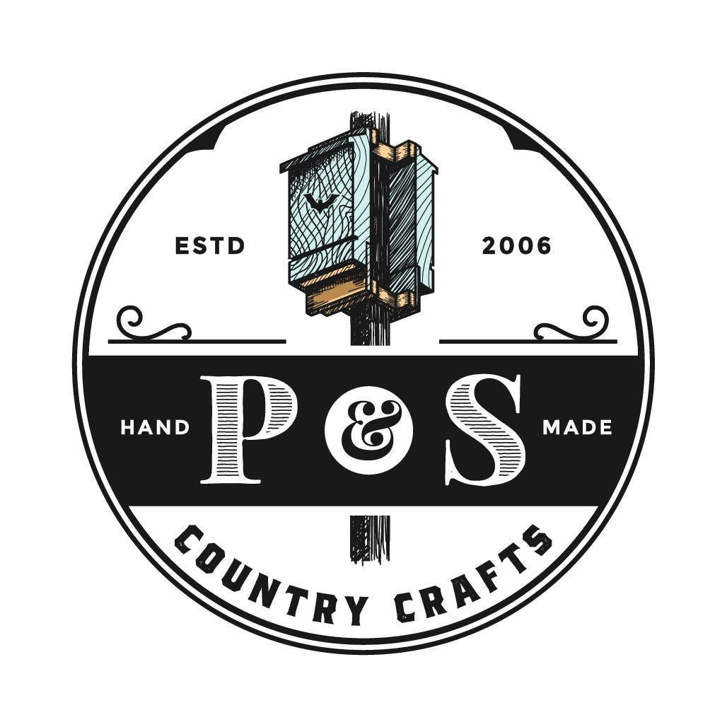 P&S Country Crafts needs a rustic logo