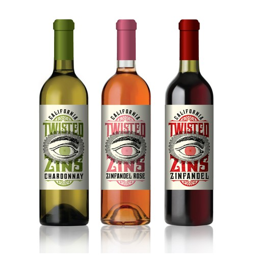 Californian Wine Labels