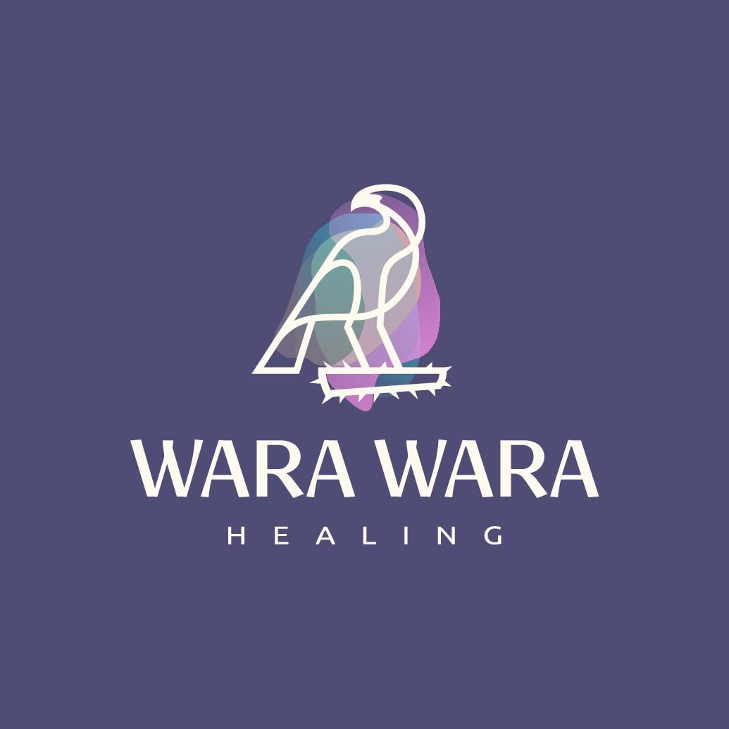 Design a logo for an unconventional non-cliché healing practice.