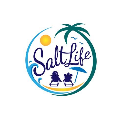 Logo for a luxurious family Beach House