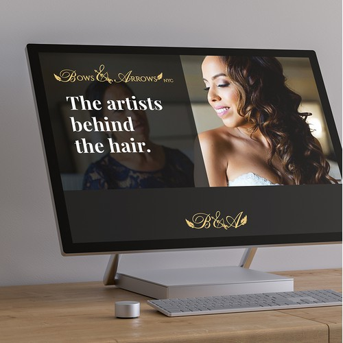 Wedding hair stylist services