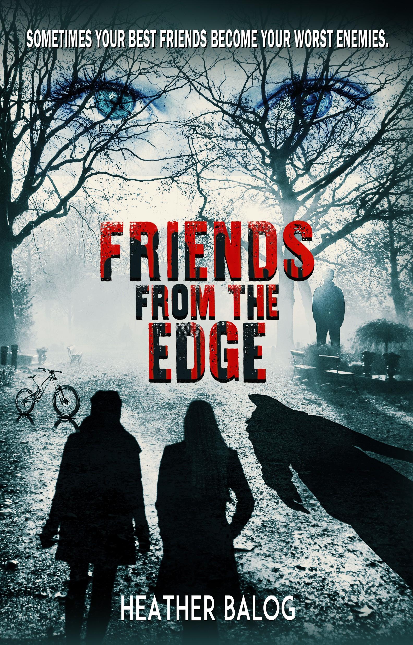 Design a cover for a psychological thriller