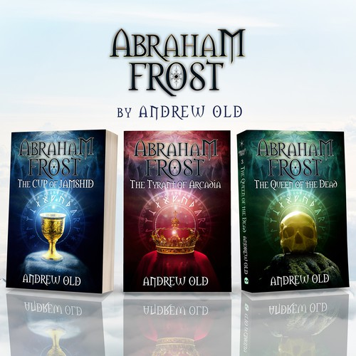 Book cover Abraham Frost - The Cup of Jamshid