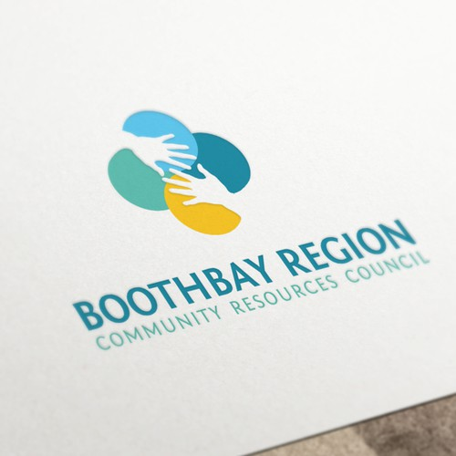 Logo design for Boothbay Region Community Resources Council