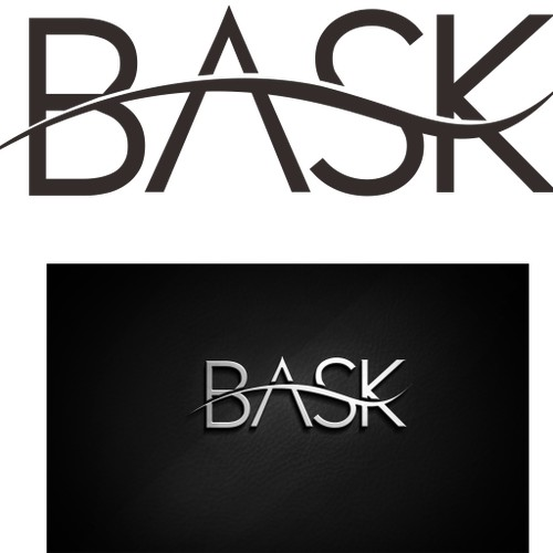 Create a simple, bold and contemporary logo for BASK