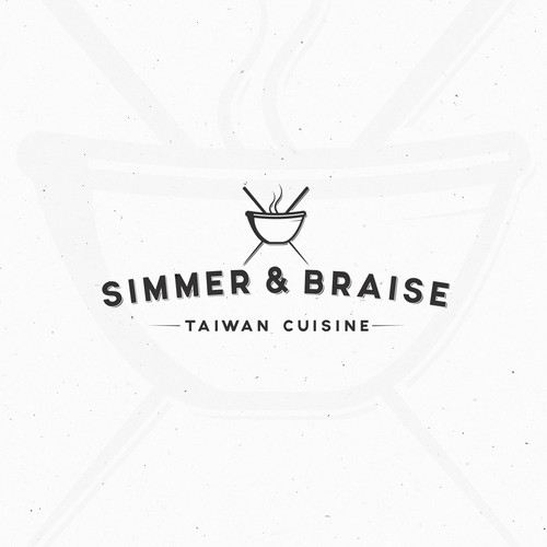 Logo for taiwanese restaurant .