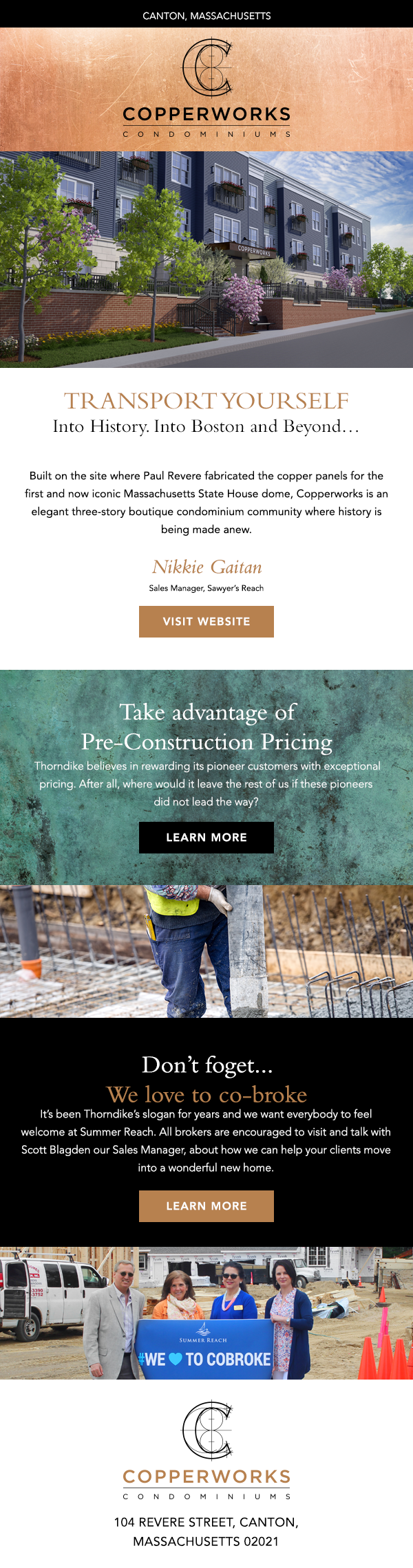 Copperworks E-mail Template
