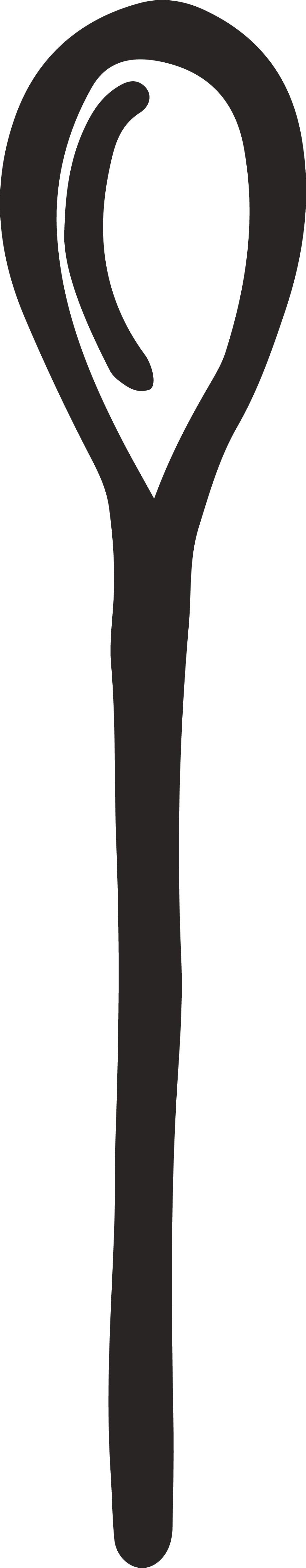 Hand Drawn Spoon Ilustration