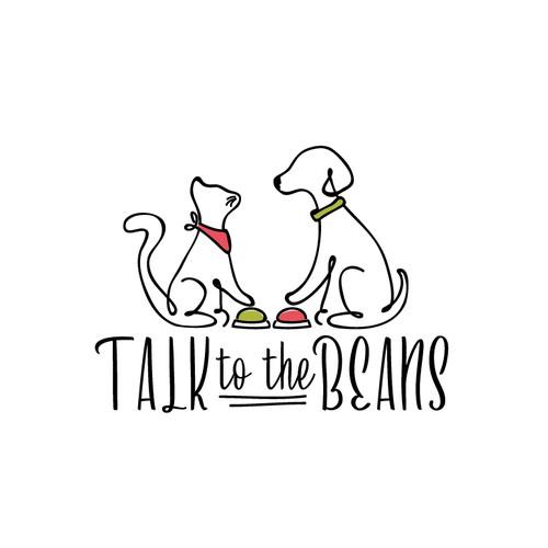 Logo design for the pet website