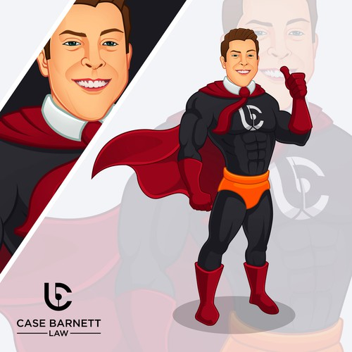 Design a Mascot for our Law Firm Super Hero Inspired