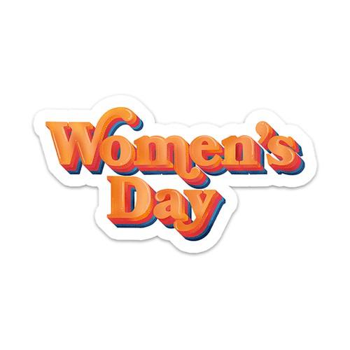 International Women's Day Sticker