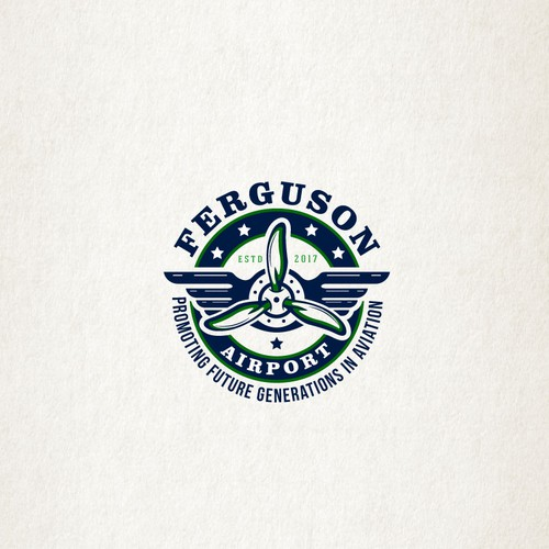 "Logo design for""Ferguson Airport"""