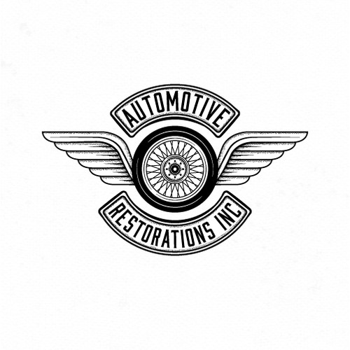 Logo for automotive restorations.