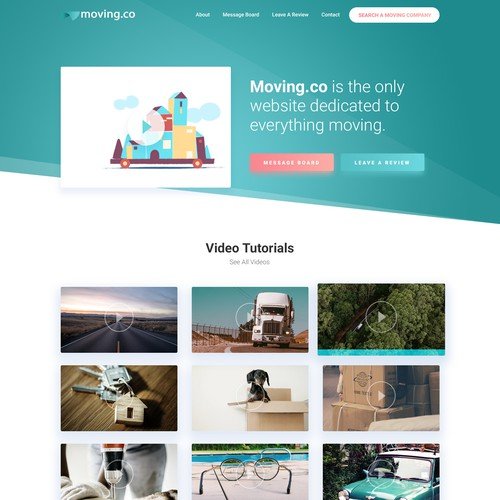 Website Design for Moving.co