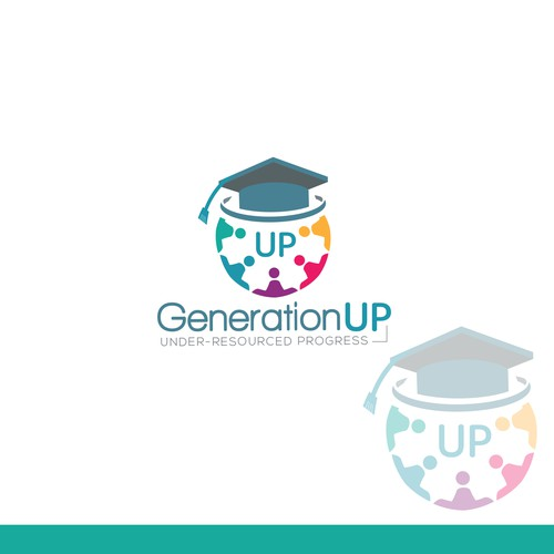 Logo for Generation UP, an advanced, digital academic learning program.