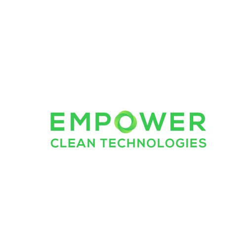 Logo concept for cleaning tech company.