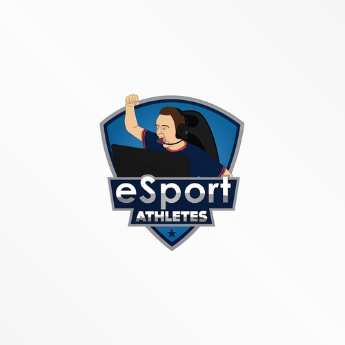 eSport athletes Logo