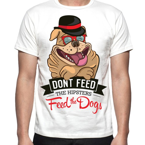 Dog Clothing Company Needs a Graphic for a New Line of Dog-T's