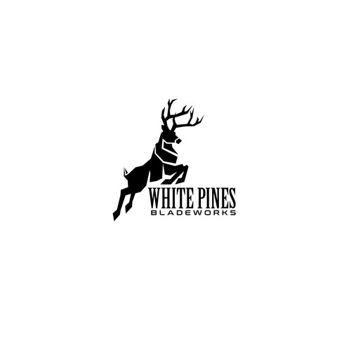 Logo Design for White Pines Bladeworks
