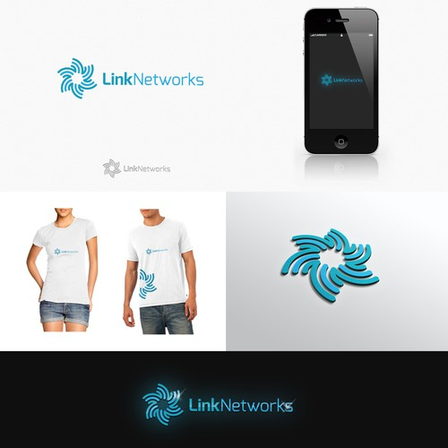 I am looking for a clever, creative logo for Link Networks.