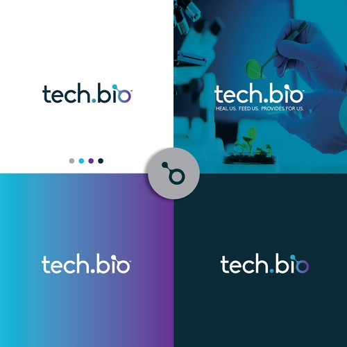 tech.bio logo design