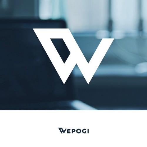 Wepogi Global Marketing Agency Logo Design