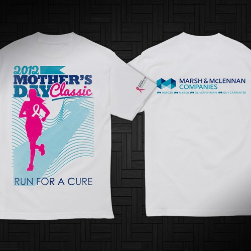 t-shirt design for Marsh & McLennan Companies