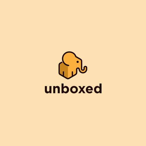 Unboxed logo design